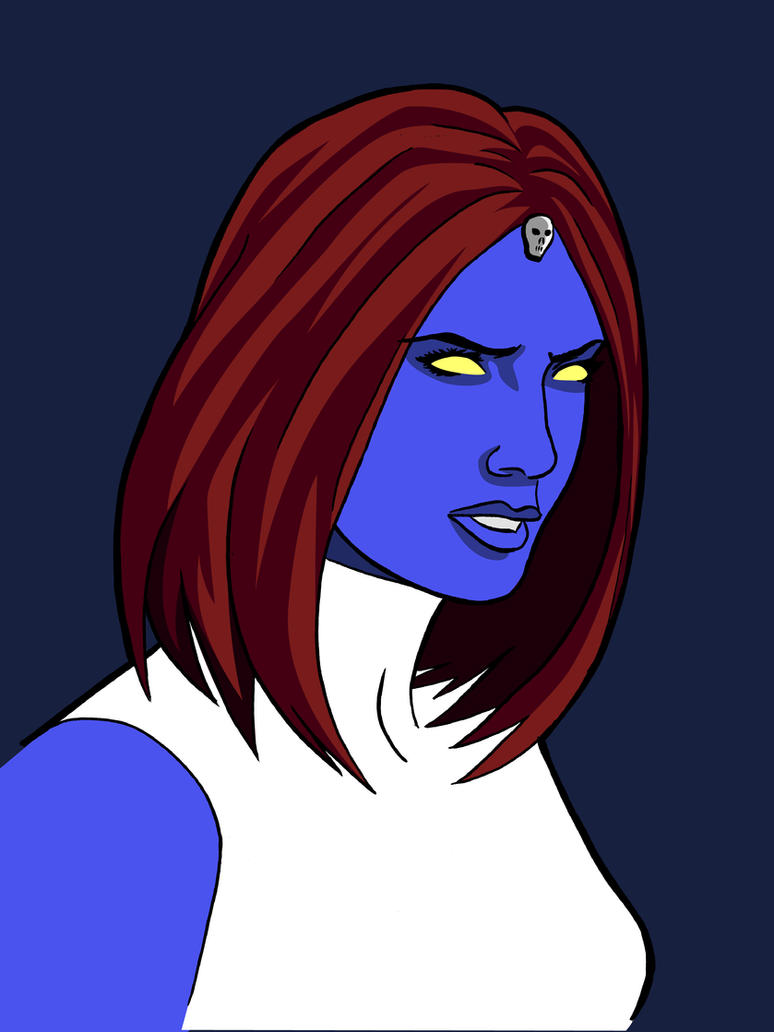 Mystique - Pinup by BauerPower24777