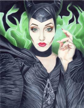 Linz Stanley as Maleficent