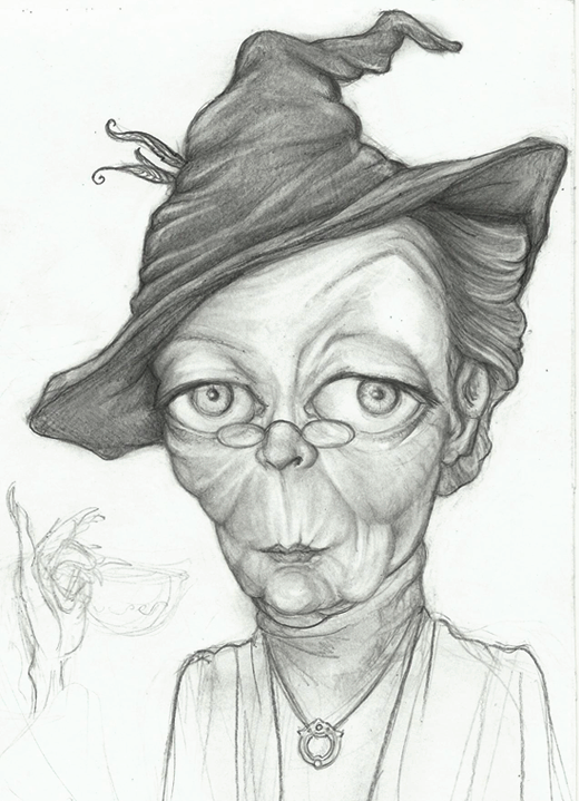 McGonagall by Eonothea20
