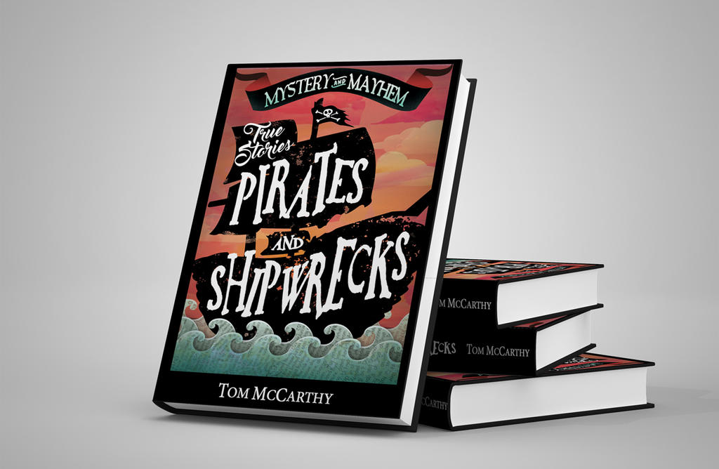 Pirates book cover design. by Eonothea20