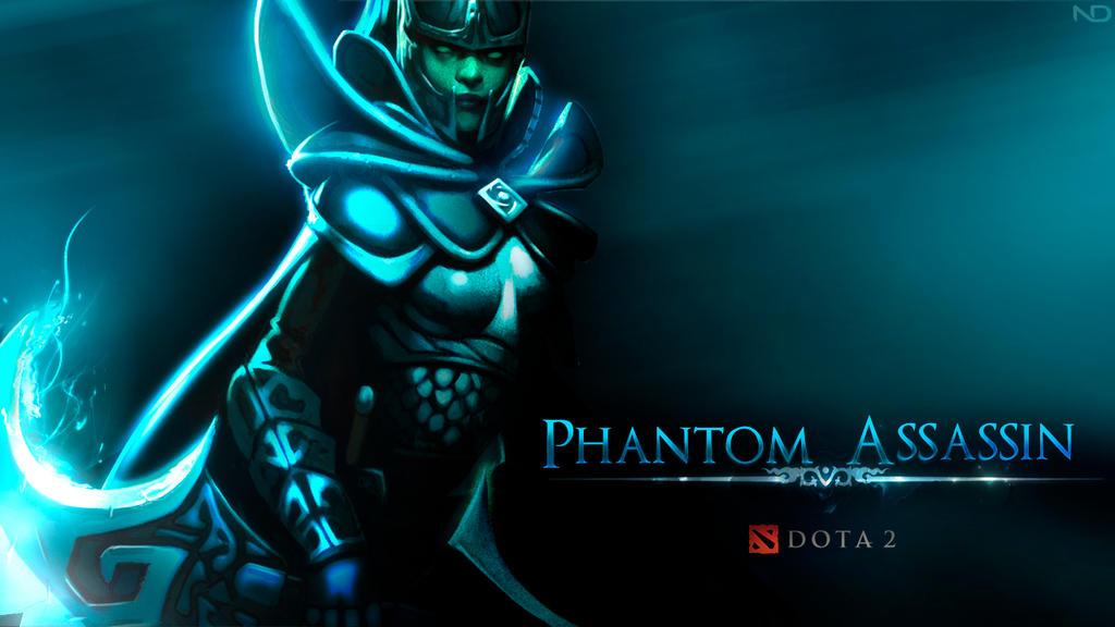 Phantom Assassin FanWallpaper Dota 2 By Nano2412