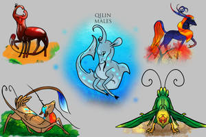 Qilin Males Ref READ ME by ApocalipsePony