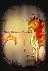 Happy Halloween Pumpkin (Read Description)