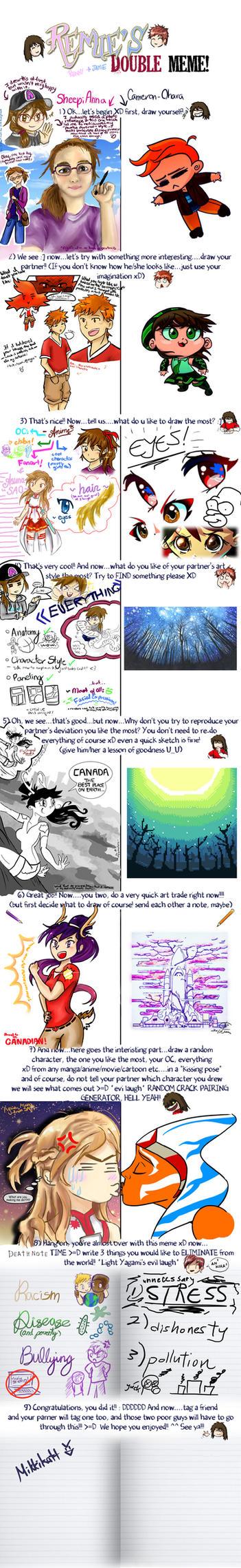 Remies Double Meme by Sheepianna and CameronOhara by Cameron-Ohara