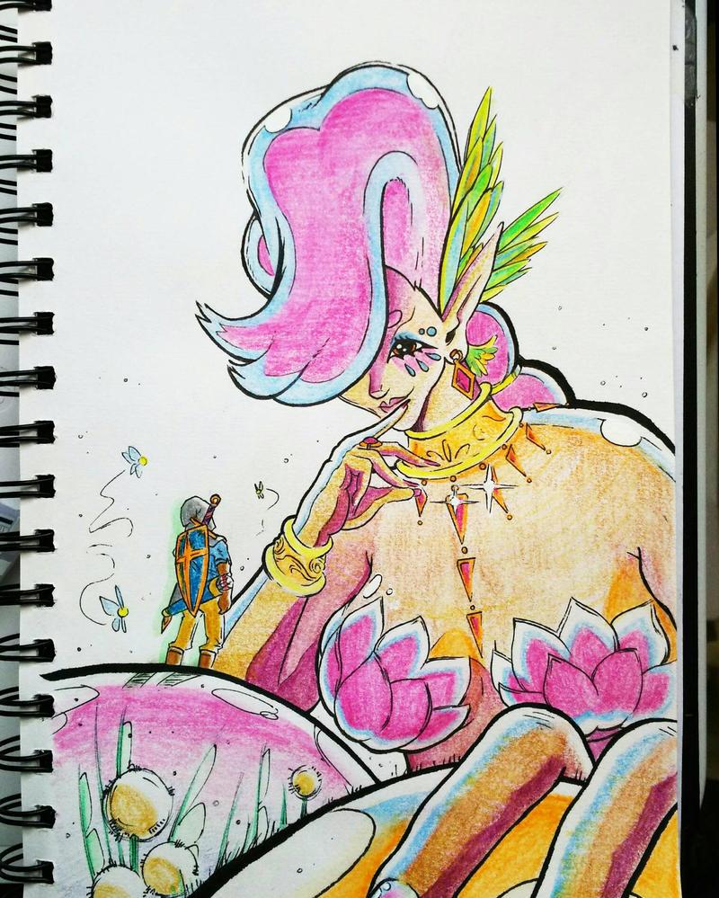 Great Fairy fanart by Cameron-Ohara