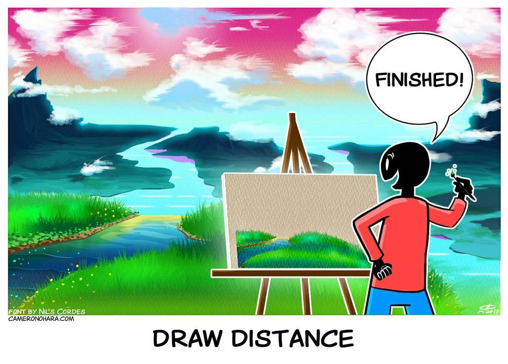 Draw Distance by Cameron-Ohara