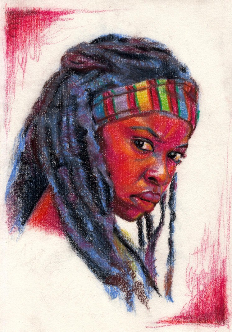 Michonne(updated) by paperthin-z