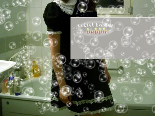 Photoshop bubble brush by awariguli