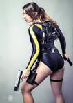 Lara Croft Tomb Raider Underworld wetsuit cosplay