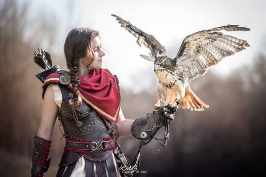 Kassandra Assassin's creed odyssey cosplay