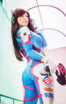 D-Va Overwatch cosplay