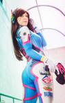 D-Va Overwatch cosplay