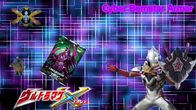 Ultraman X Cyber Bemstar Armor Wallpaper By Kzd14 On Deviantart