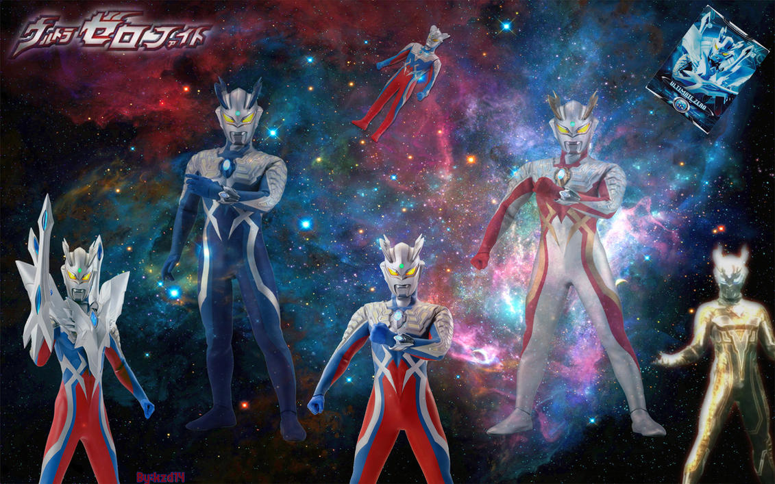 Ultraman zero all form by Kzd14 on DeviantArt