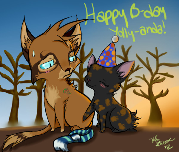 Happy Birthday Yolly-anda! by LunaStar52