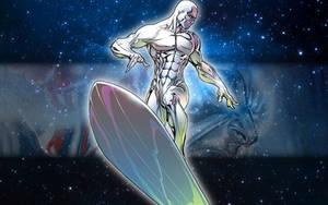 Silver Surfer 1280x800 by majunua