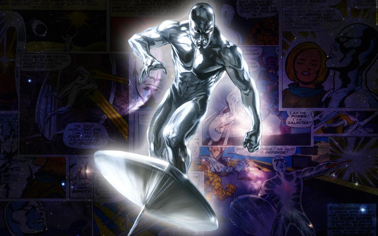 Silver Surfer Wallpaper High Resolution: Silver Surfer Comic Wallpaper By Majunua On DeviantArt