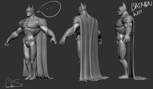 Batman WIP by TheStoff