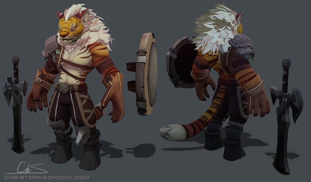 Deviantart Lion Warrior: WIP By TheStoff On DeviantArt