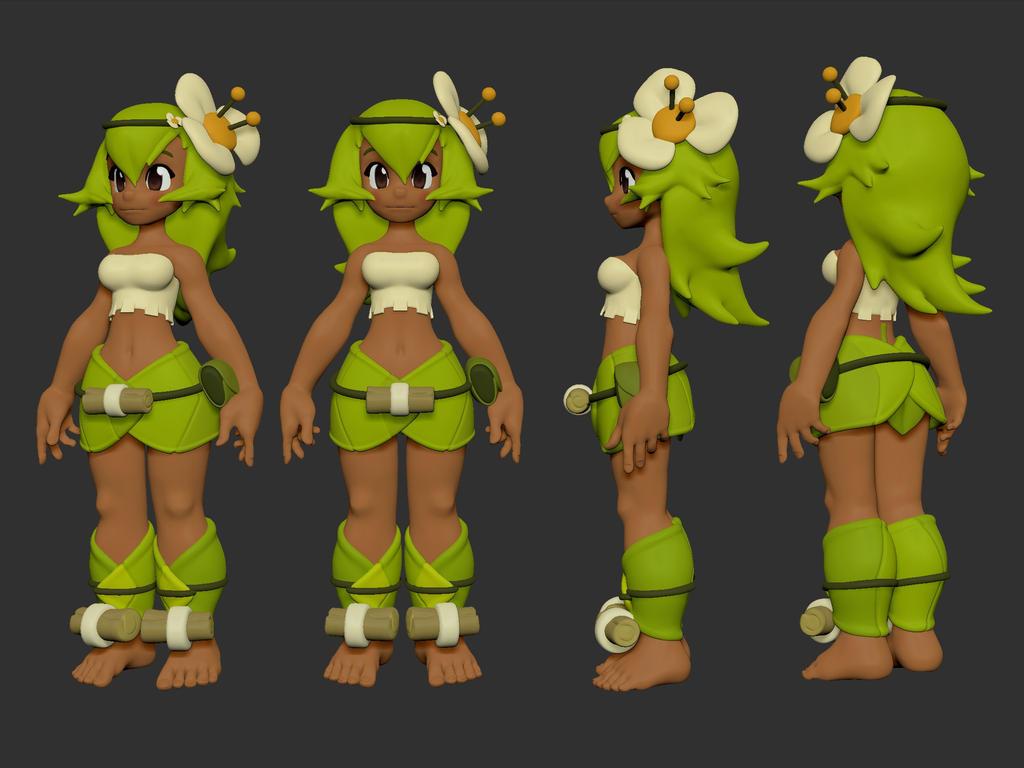 Wakfu Anime Character Design : Wakfu amelia by thestoff on deviantart