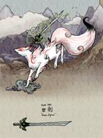 Fox Spirit of the Brush? by Pencil-Artisan