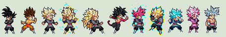 ULSW Black Goku Forms - Dragon Ball Super