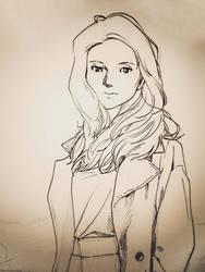 woman by Risaiwata