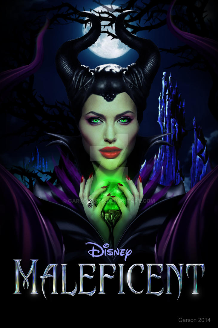 Angelina Jolie as Maleficent II by GarsonArts on DeviantArt