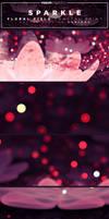 Sparkle - Floral Field Fractal Curioos Art Print