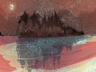 Katsina's blessings - the lake by kikuhana1901
