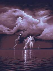 Pixel Clouds Study 2 by matt-walkden