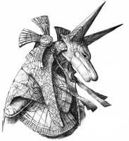 Anubi Guard by JonoHex