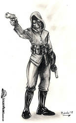 Dieselpunk Assassin