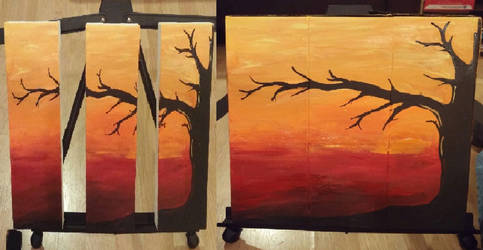 Sunset by Gurhel