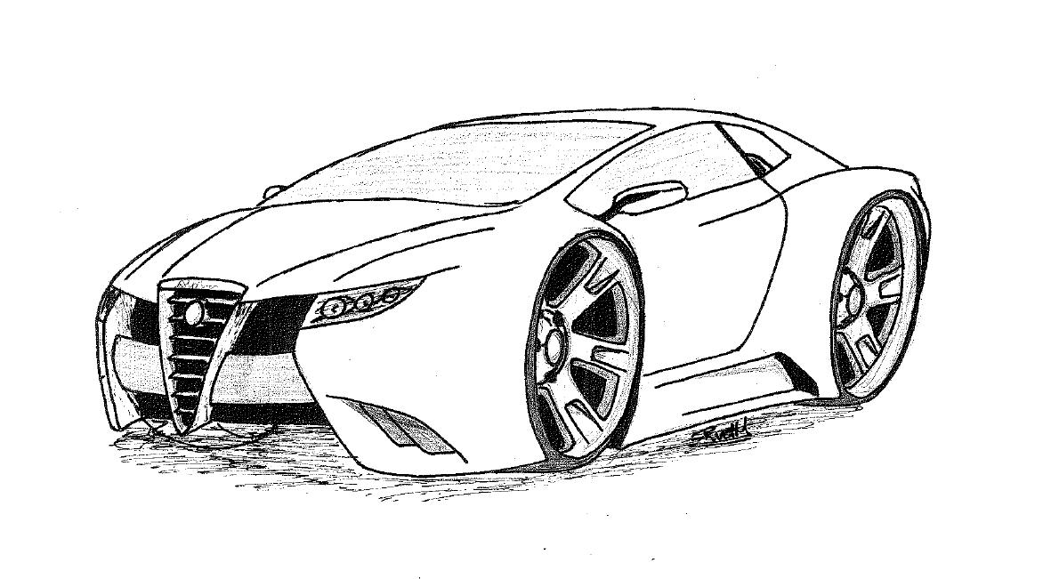 alfa romeo  u0026 39 gtv6 u0026 39  sketch by remonvdh on deviantart