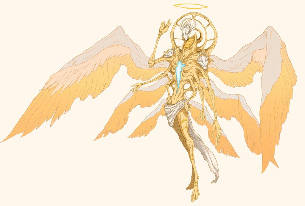 ¿Cómo son los ángeles? True_form_gabriel_by_little_hofundur-d5ikmga