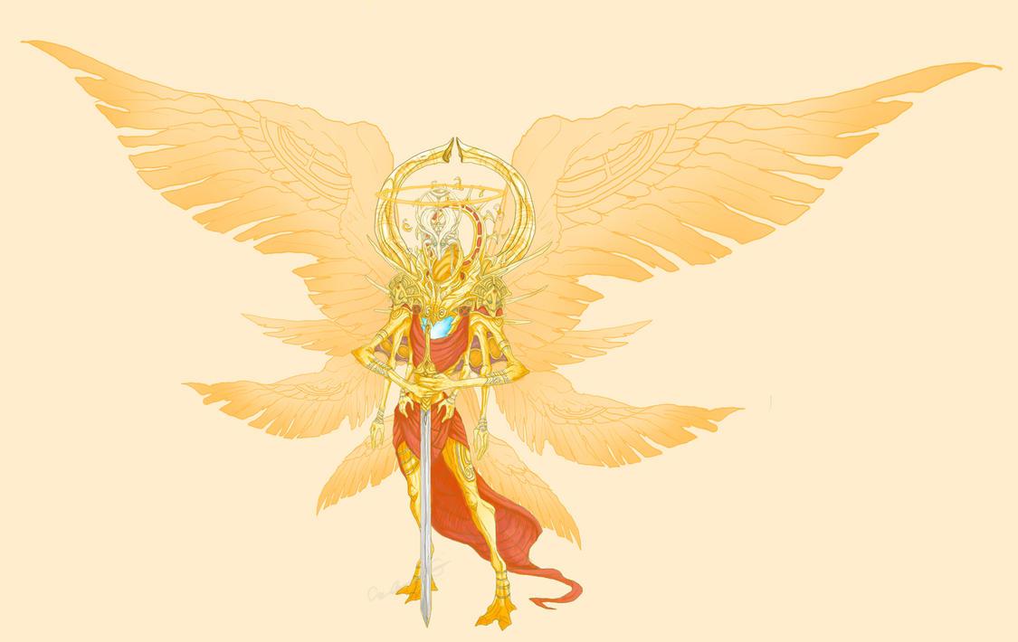 ¿Cómo son los ángeles? Trueform_michael_by_little_hofundur-d5sbbvk