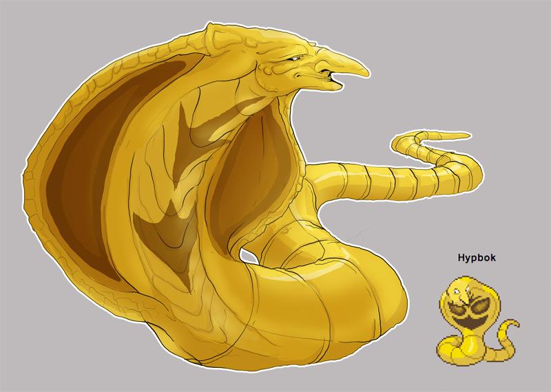 Pokemon Fusion-Hypbok by Little-Hofundur