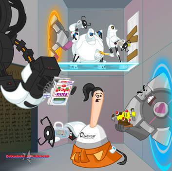 Marzipan is in Portal Cartoon