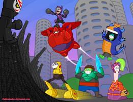 Big Hero 20X6 by DaBurninator