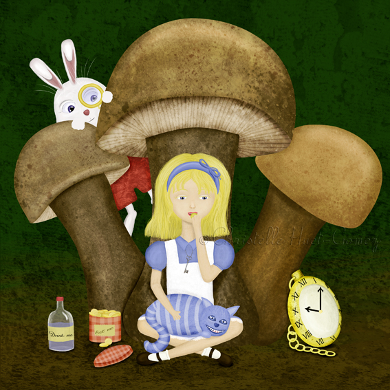 Alice in Wonderland by choumie