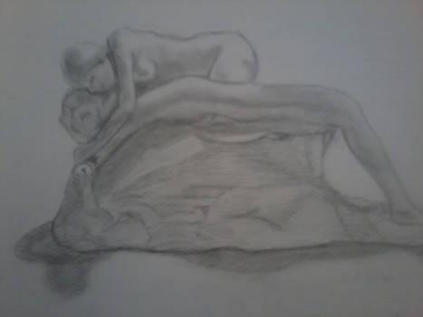 Rodin's 'La muerte de Adonis'