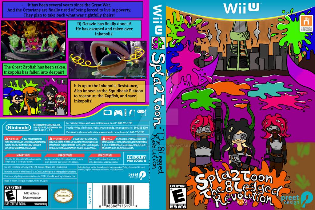 Splatoon 2 - Fake Game Cover by StarrySkyofLostSouls