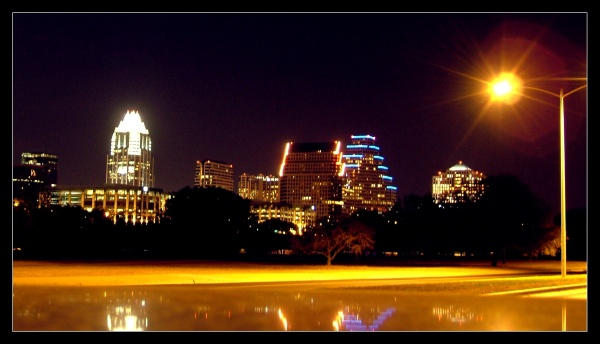 Austin At Night by Dystopian-Optimist