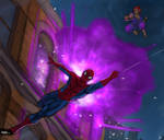 Spiderman vs Akuma