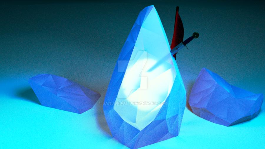 Sword in the Glowstone by SanjurjoT