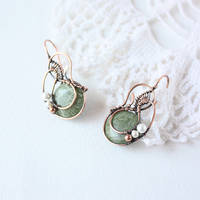 The Old pond earrings by WhiteSquaw