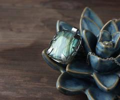 Frosen pendant by WhiteSquaw