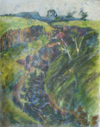 Another study of LaLa Falls, Victoria by pheelix-dot-com