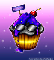 ReaperLove cupcake : 3 by AilwynRaydom